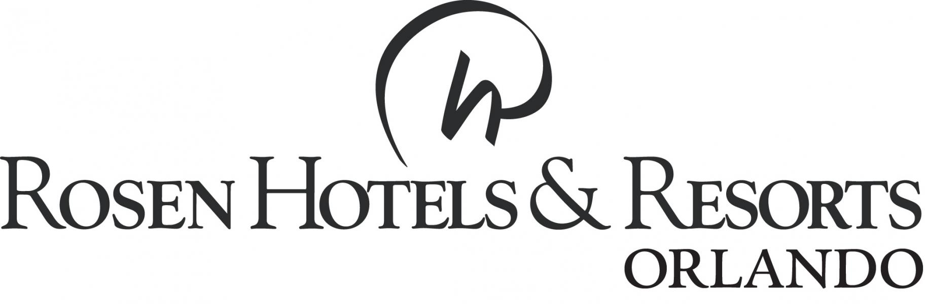 Rosen Hotels & Resorts Orlando logotipo (preto)