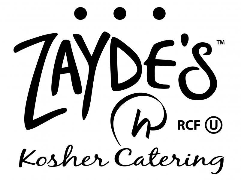 Zayde's Kosher Catering Logo - Rosen B&W