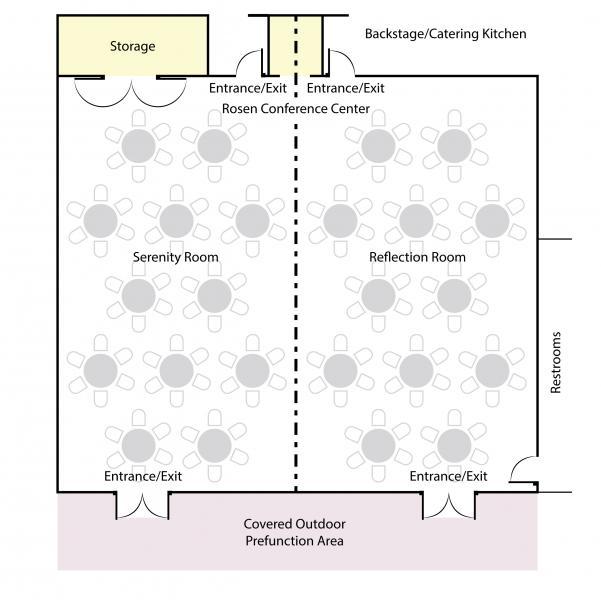 Banquet Floorplan