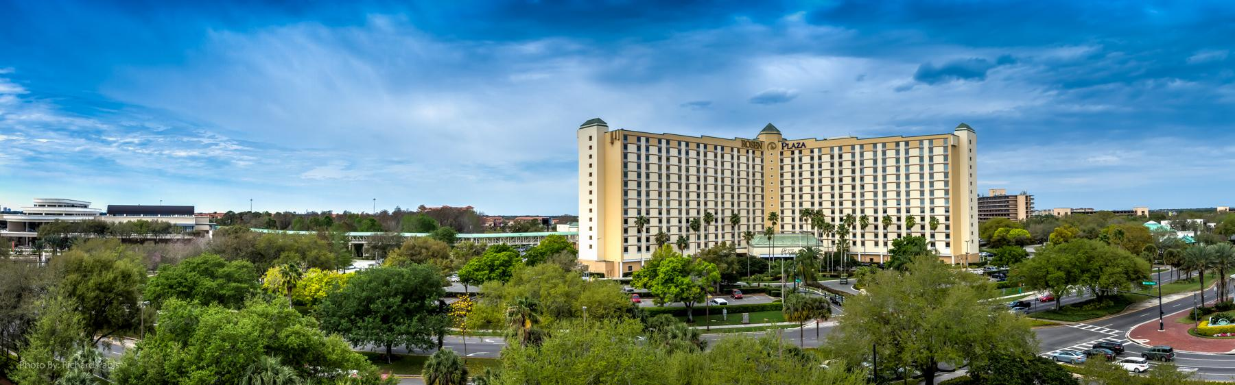 Rosen Plaza is ideally connected to the Orange County Convention Center.