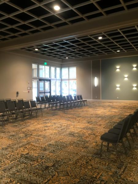 Ballroom Theater Room Setup