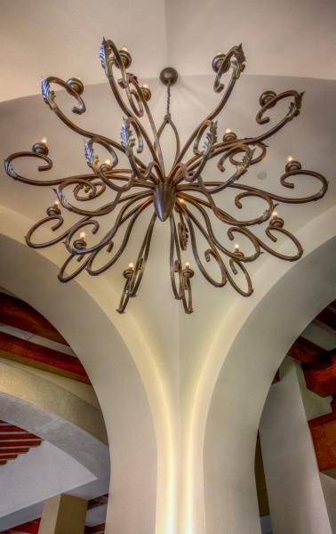 Chandelier interior architecture