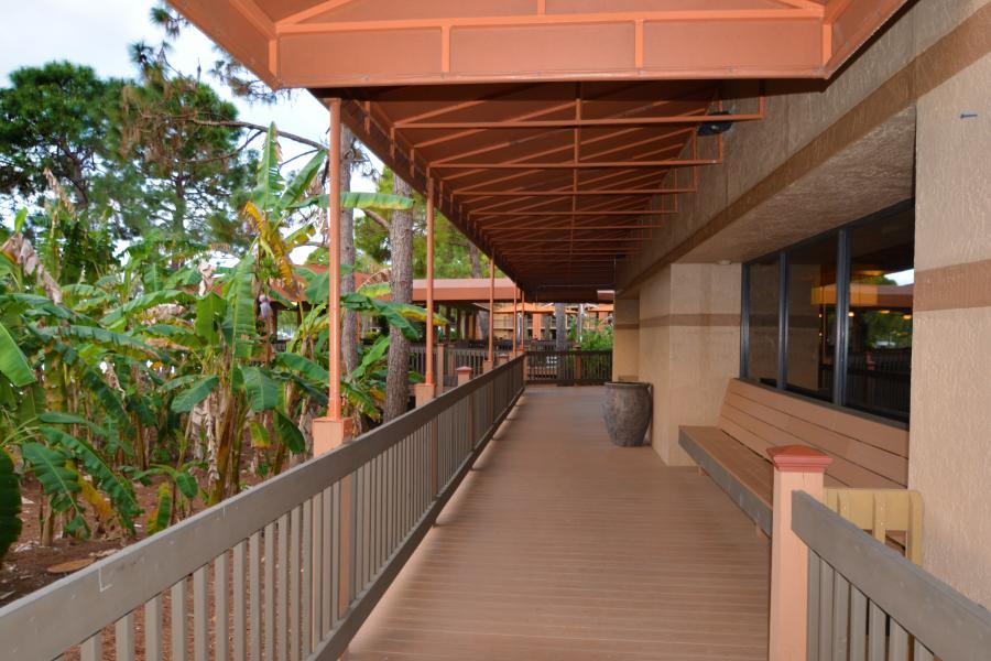 Walkway to Pavilion