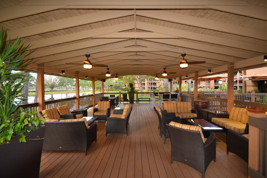 Pavilion Lounge Area