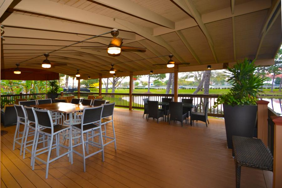 Pavilion Seating and Tables