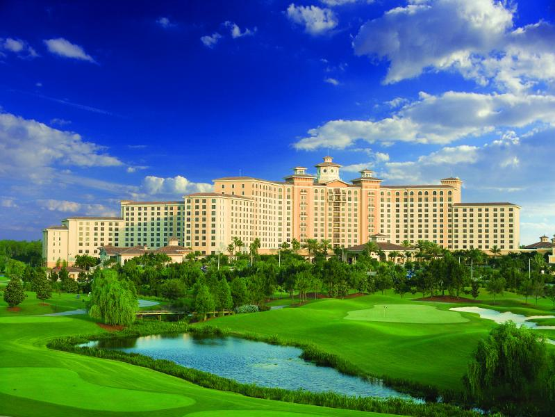The majestic AAA Four Diamond Rosen Shingle Creek in Orlando.