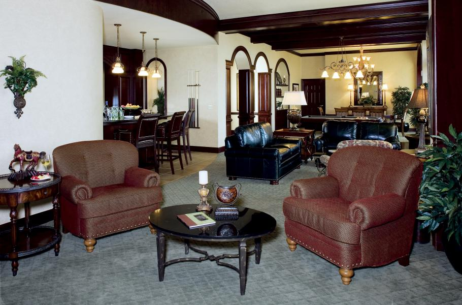 One of three Presidential Suites, the Everglades envelops guests in a sophisticated ambiance with ri