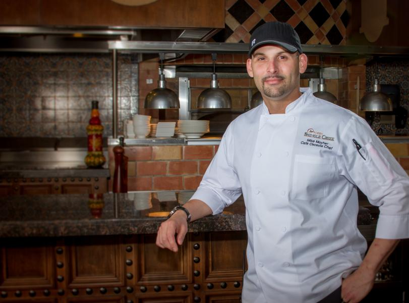 Cafe Osceola's Head Chef Mike Moyher.