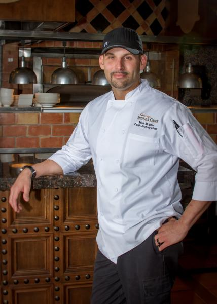 Cafe Osceola Head Chef Mike Moyher.