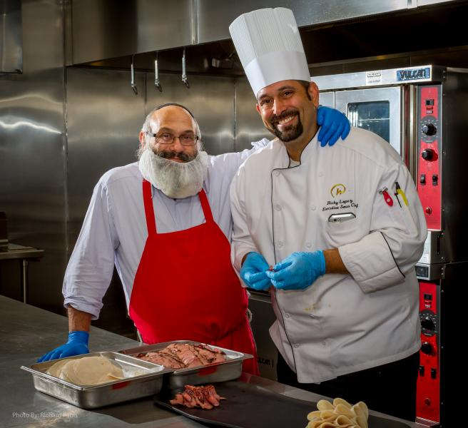 Zayde's Chef and Mashgiach