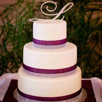 Centre Wedding -Cake
