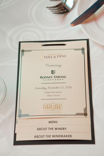 Vine & Dine - Rodney Strong