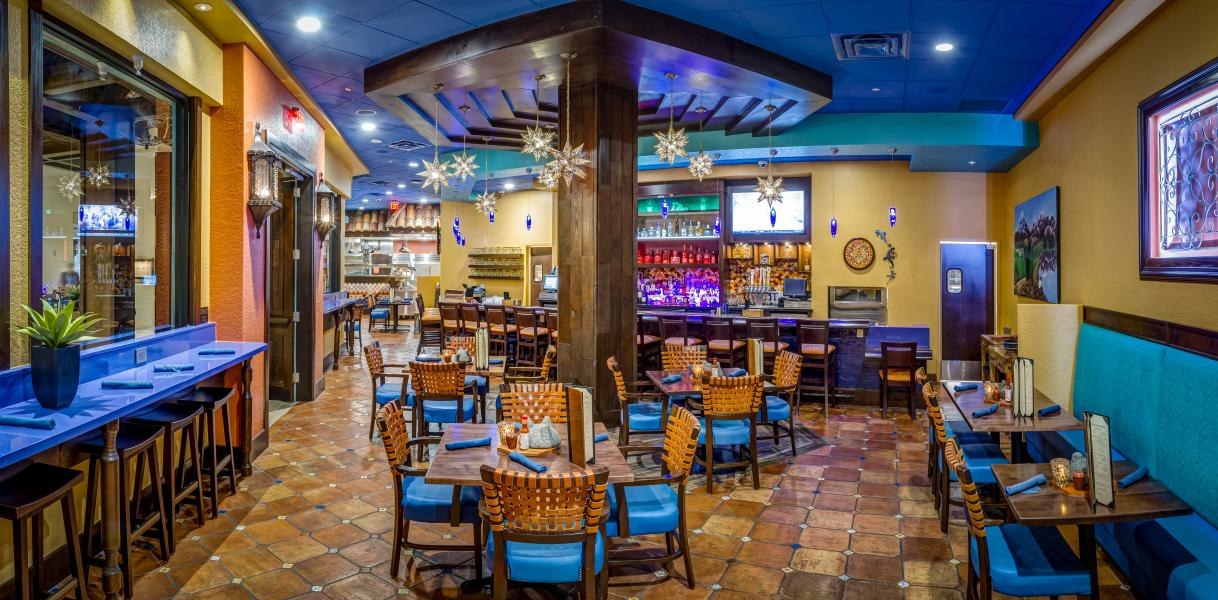 Mi Casa Tequila Taqueria is vibrant in both decor and flavors!