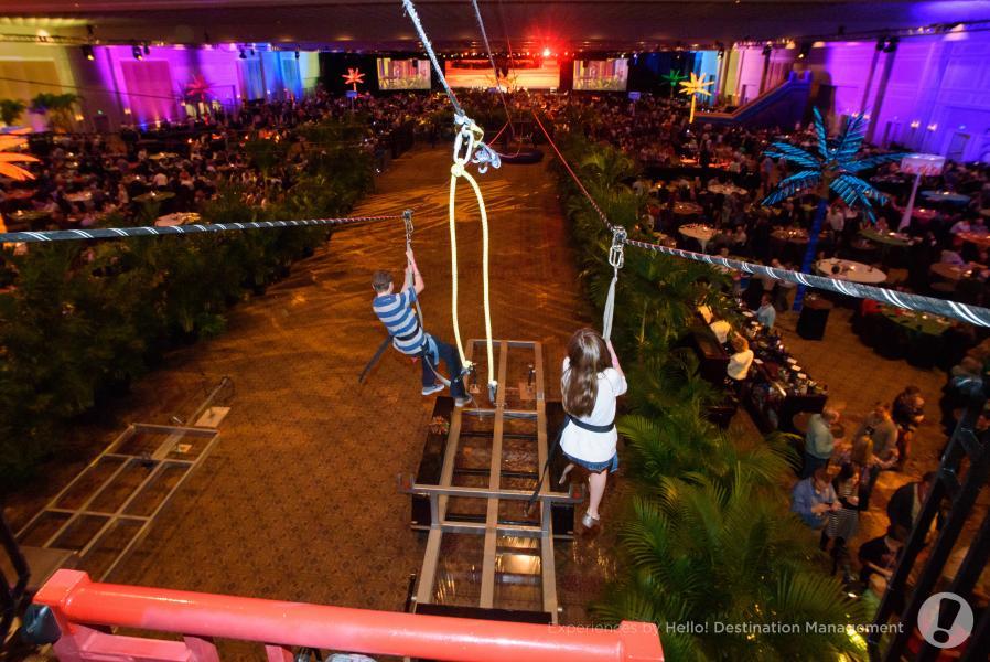 Ballroom Set Up - Experiências por Olá! Destination Management