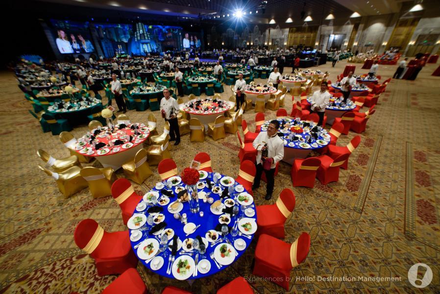 Ballroom Evento Set Up - Experiências por Olá! Destination Management