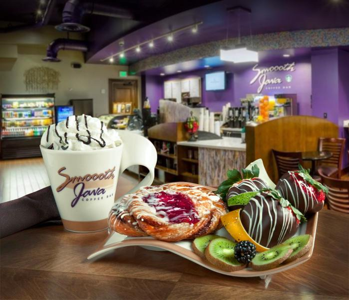 Smoooth Java Coffee Bar perks up guests with coffees, pastries and more.
