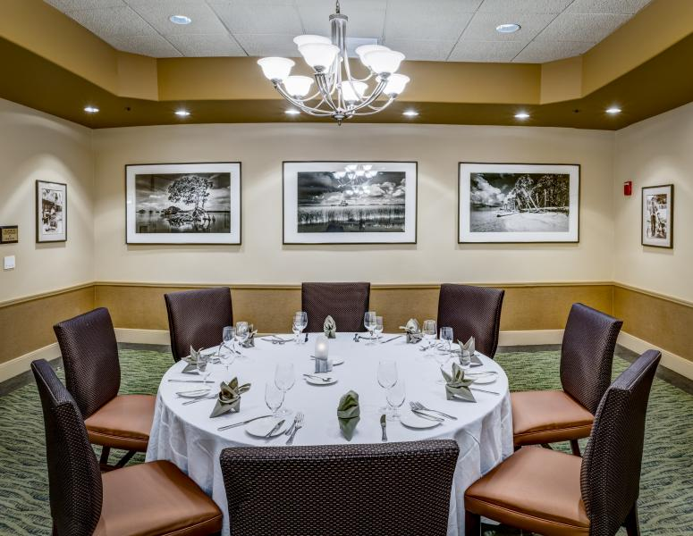 Everglades Private Dining Room
