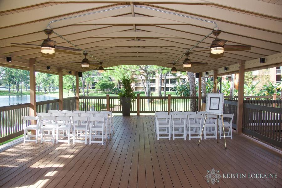Ceremony Site at Lakeside Pavilion