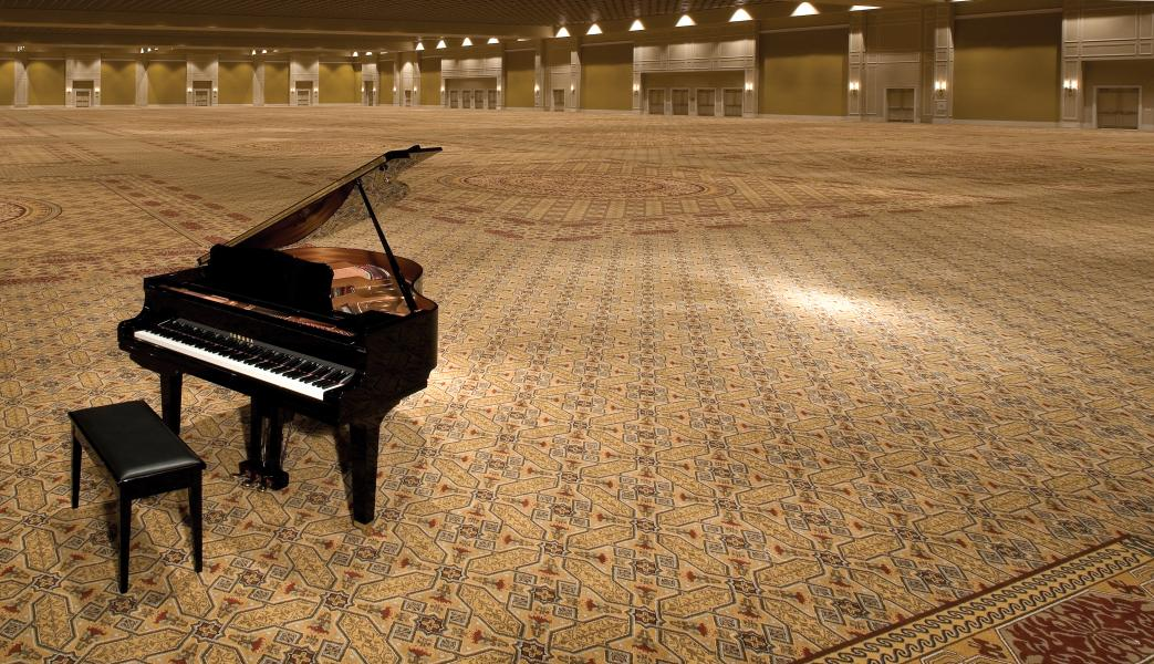 The 95,000 square-foot Gatlin Ballroom is one of the largest column-free ballrooms in the nation.