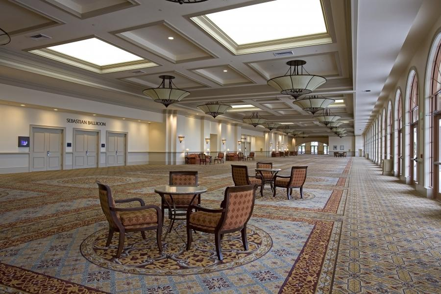 Expansive Sebastian Pre-Function Space offers flexibility for events of all sizes.