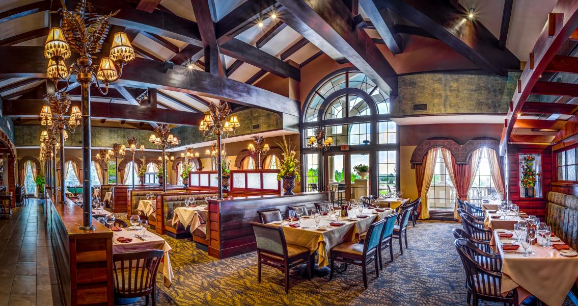 AAA Four Diamond, A Land Remembered restaurant features Harris Ranch Prime steaks and seafood.