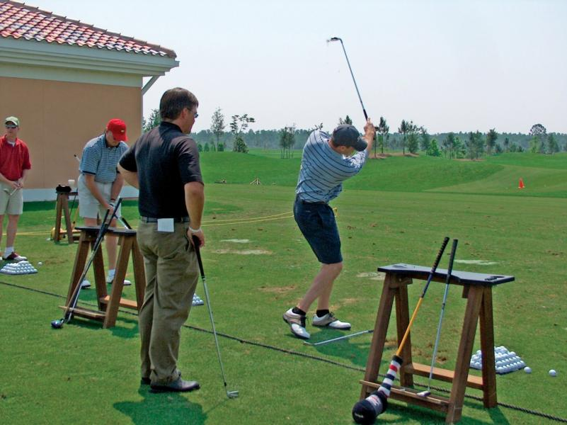 Rosen Reveal Golf -- Top 100 Golf Instructor Brad Brewer shares game-changing tips at his namesake academy.