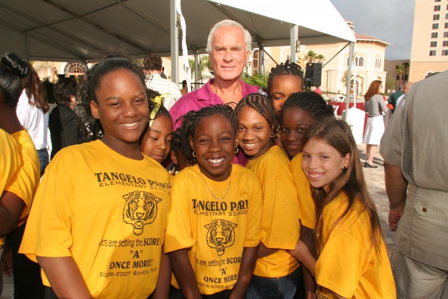 Harris Rosen and Exploration Everglades kids