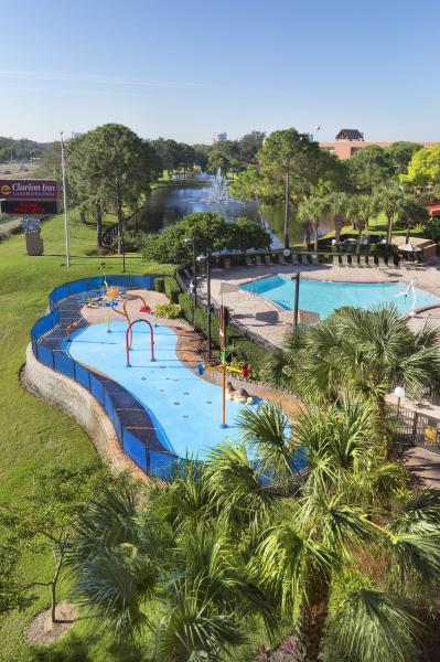 Ozzie's Splash Zone, Seasonally Heated Pool, and Lake