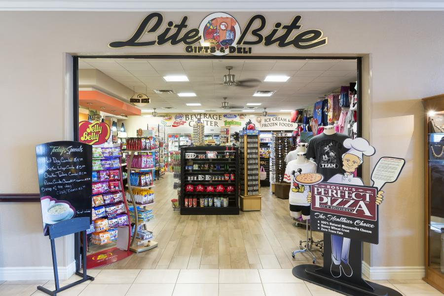 Interior - Lite Bite Gifts & Deli