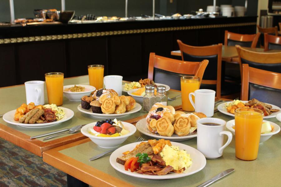 Plaza Garden Buffet Breakfast