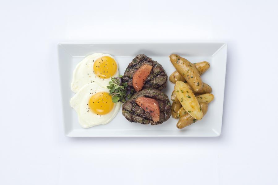 Chimichurri Filet and Eggs