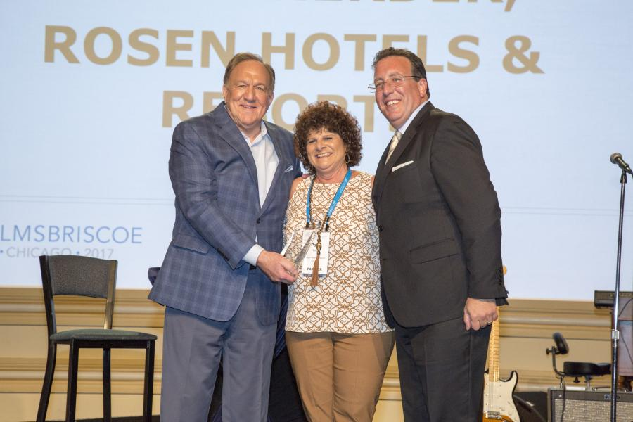 Rosen Reveal Rosen Difference -- Patti Herder, Associate Director of Sales, Midwest , was named 2016 Independent Hotel Sales Person of the Year by Helms Brisco.