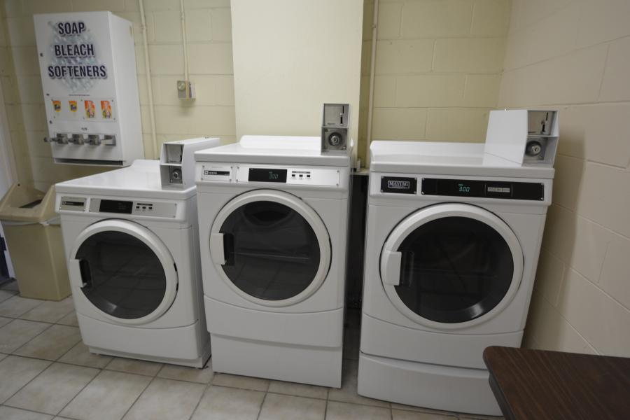 Midpointe Hotel Guest Laundry