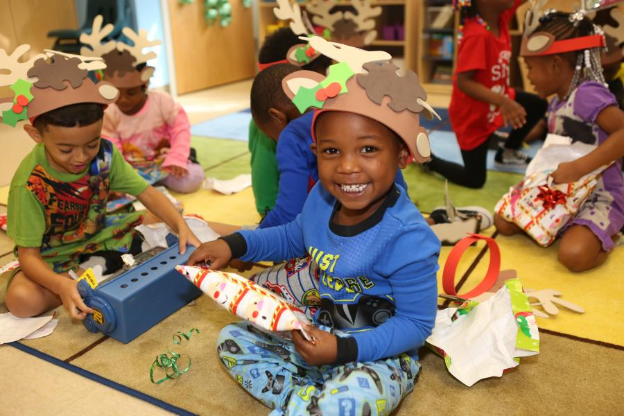 It's A Merry Christmas at the Rosen Preschool thanks to SiteOne!
