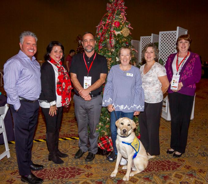 Canine Companions for Independence Holiday Charity Tree