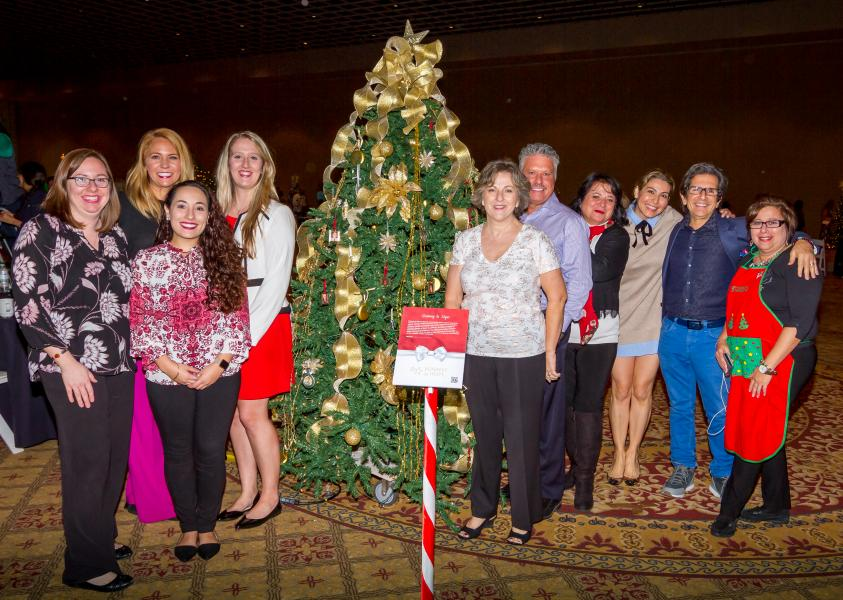 Runway to Hope Holiday Charity Tree