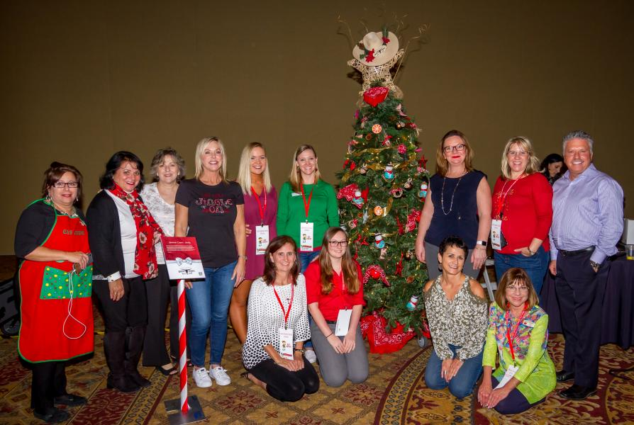 American Cancer Society Holiday Charity Tree