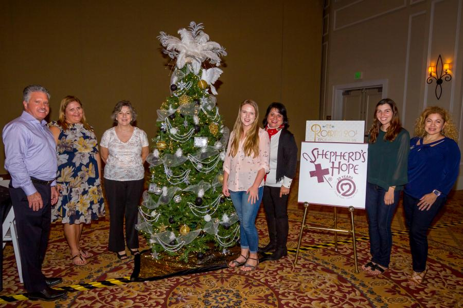 Shepherd's Hope Holiday Charity Tree