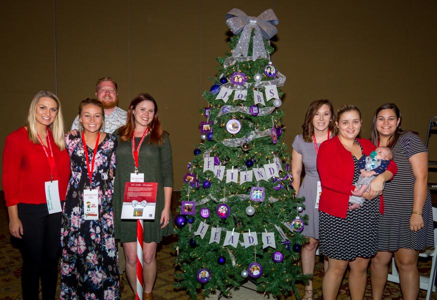 Best Buddies International Holiday Charity Tree