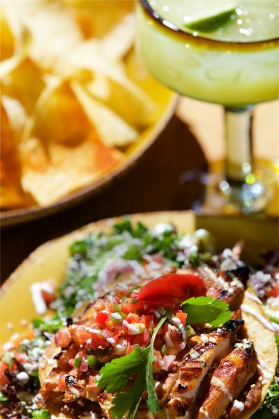 Mi Casa Tequila Taqueria's Tostada Salad.