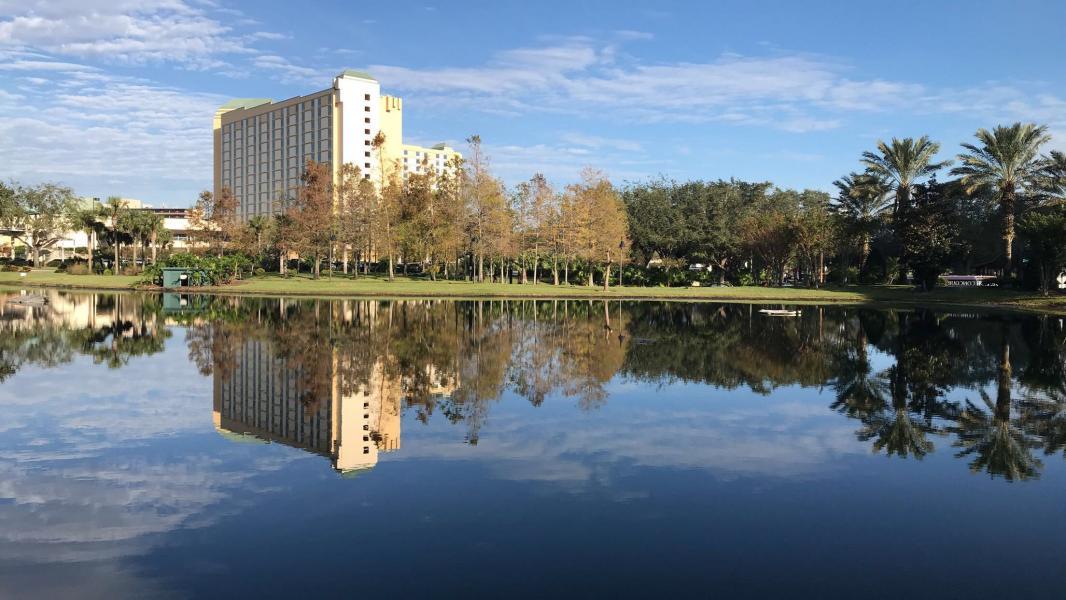 Rosen Plaza - Exterior Shot by Lake