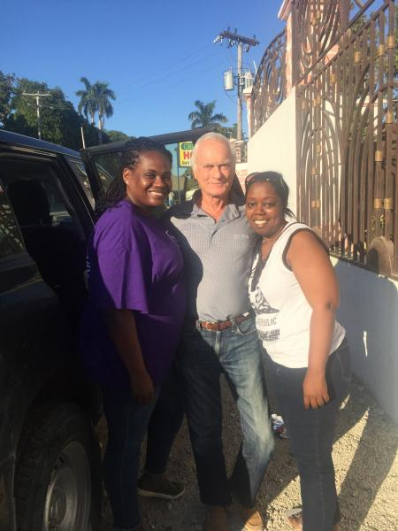 Dec. 2017 (Haiti) Members of The Harris Rosen Foundation team supporting Haiti.