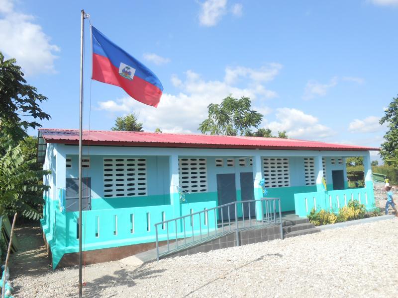 Dec. 2017 (Haiti) The Institution Mixte St Jean De Jonc Labeille-Harris Rosen school in Haiti.