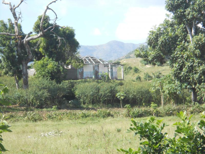 Dec. 2017 (Haiti) A home that was destroyed by the Sept. 2016 Hurricane Matthew in the process of being rebuilt..