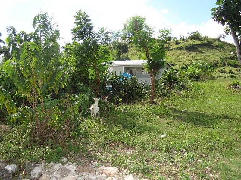 Dec. 2017 (Haiti) One of the more than 100 Haitian homes rebuilt by Harris Rosen after the 2016 hurricane.