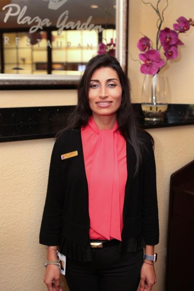 Carolina Castellanos, Restaurant Manager