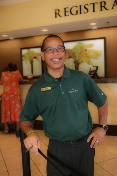 Earl Williams, Asst. Front Desk Manager