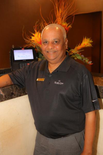 Narin Singh, Front Desk Manager