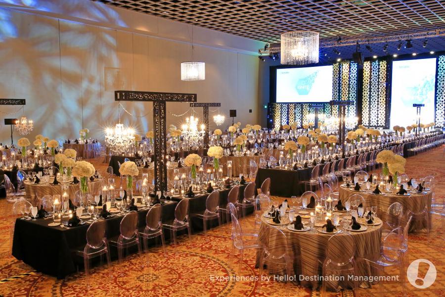 Gatlin Ballroom Set Up