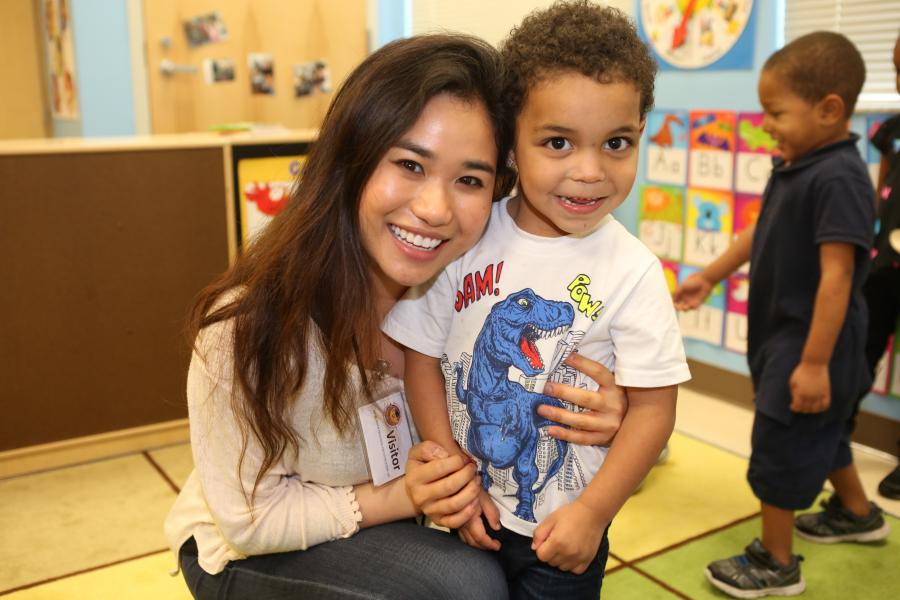 2018 -- Cornell Students Spend an Alternative Spring Break at the Rosen Preschool